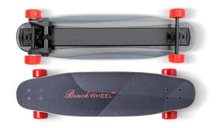Skate electrique benchwheel