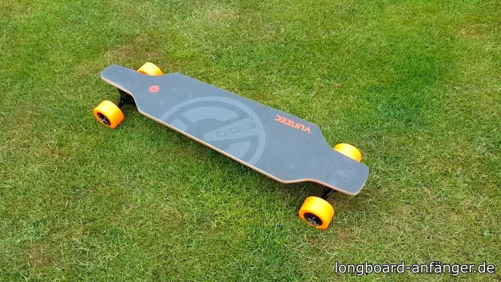 Yuneec E-GO Elektro Longboard test et avis 1