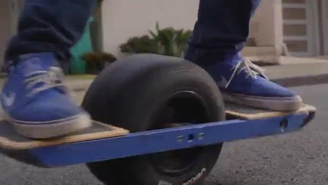 Les skates électriques à une roue