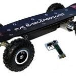 Webetop skate board  grandes roues  tlcommande et  3 modes de vitesse frein ABS lectrique 0