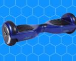 Hoverboard bleu slidegear