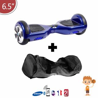 Hoverboard-bleu-6-5-avec-houe-de-transport-Bluetooth-Batterie-Samsung-Enfant-Adulte