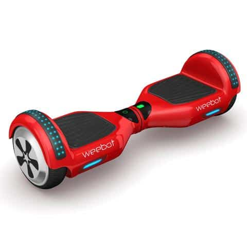 hoverboard light rouge
