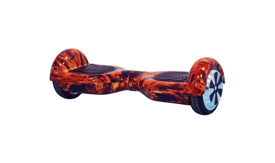 Hoverboard Rouge Flamme