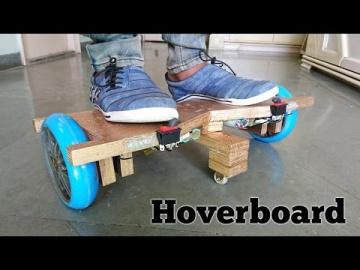 Comment fabriquer un hoverboard chez soi [ Drôle d'engin ]